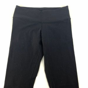Lululemon classic black skinny yoga pants